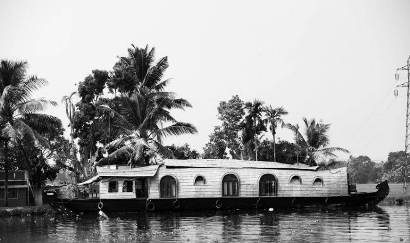 Kerala, India, imbarcazione tipica | © JJAVA