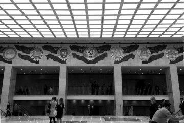 Cremlino, Palazzo di Stato, entrando a un concerto | © Luca Lovisolo