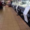 Kiev, mercato bessarabico, banchi del pesce fresco