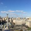 Kiev, Majdan Nezaležnosti dall'ottavo piano dell'Hotel Ucraina