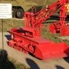 Piccolo escavatore teleguidato usato per gli sgomberi nelle aree più radioattive