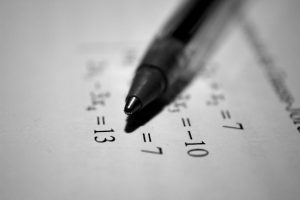 Penna a sfera su numeri | © Antoine Dautry