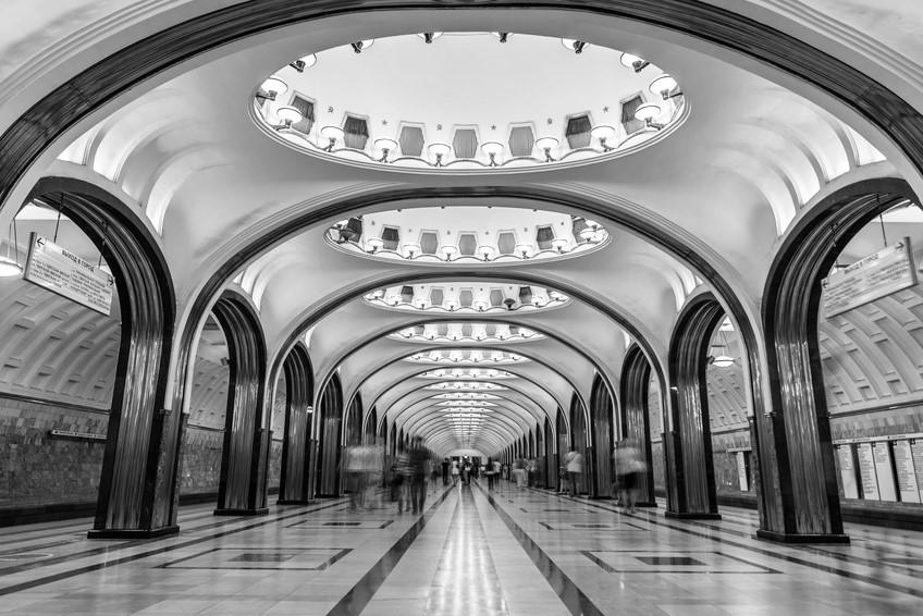 Mosca, stazione metro Majakovskaja | © Leonid Andronov
