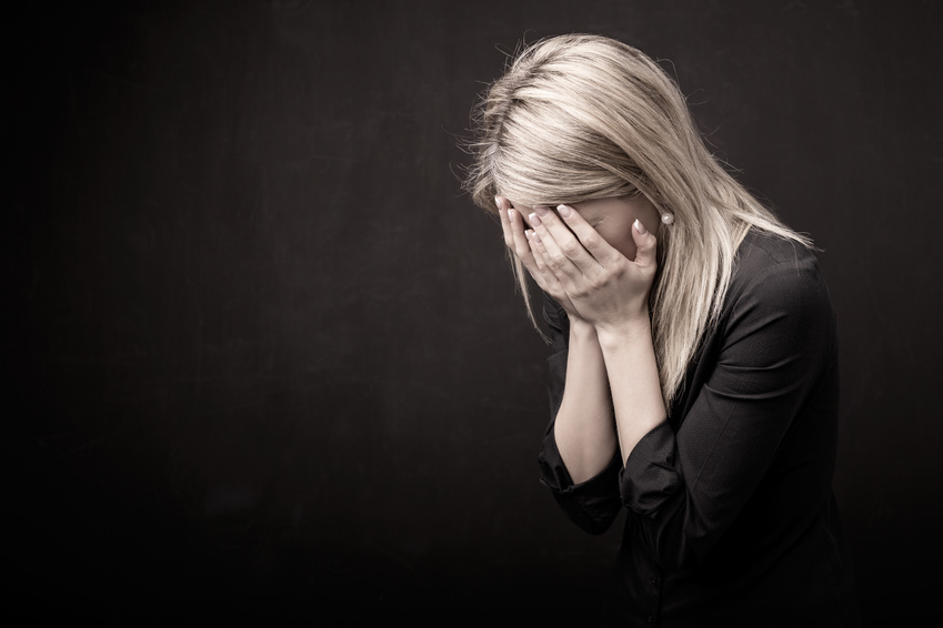 Donna in lacrime | © Kaspars Grinvalds