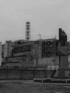 La centrale nucleare di Černobyl'   © Luca Lovisolo