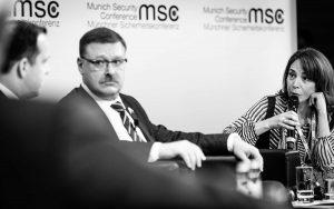 Momentaufnahme während der Syrien-Debatte | © Münchener Sicherheitskonferenz 2017