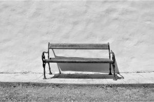 Leere Sitzbank, Santa Maria Navarrese (I)   © Umanoide