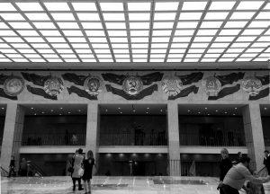 Mosca, Cremlino: simboli delle ex repubbliche sovietiche nel Palazzo di Stato | © Luca Lovisolo