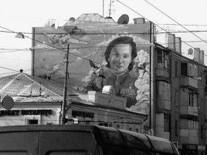 Murales di epoca sovietica a Charkiv. Ucraina | © Luca Lovisolo
