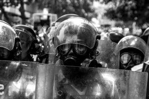 Caracas, Venezuela, Polizia contro manifestanti   © Andres Gerlotti