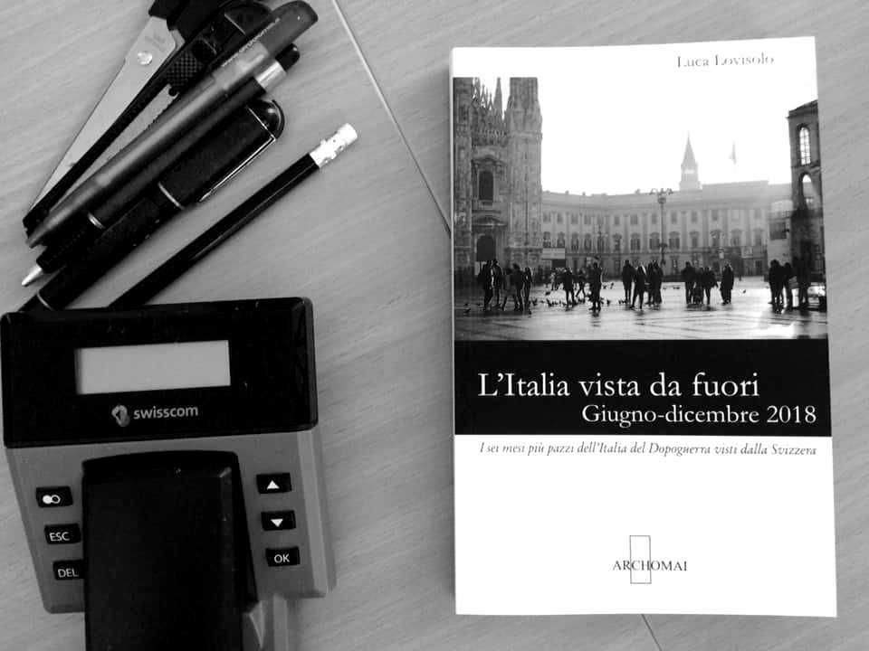 Luca Lovisolo: L'Italia vista da fuori | Archomai edizioni, 2019