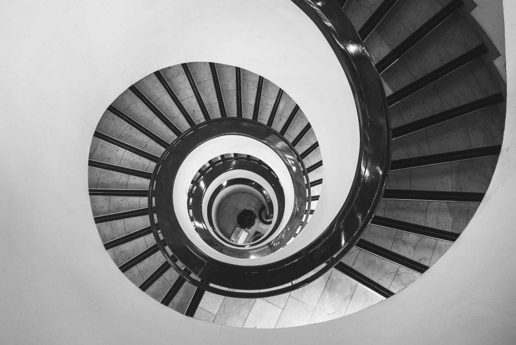 Helsinki, scala a spirale ! Natalya Letunova