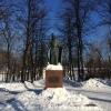Mosca, monumento ad Andrej Rublëv, celebre pittore di icone del Quattrocento
