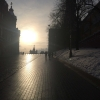 Mosca, salita alla Piazza Rossa dalla Piazza del Maneggio