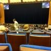 Mosca, Cremlino: Sala grande del Palazzo di Stato