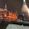Mosca, dalla Piazza del Maneggio verso la Piazza Rossa
