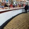 Kiev, mercato bessarabico, banchi di macelleria