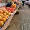 Kiev, mercato bessarabico, reparto frutta