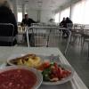La mensa del personale della centrale di Černobyl'
