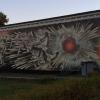 Černobyl', pittura murale a memoria del disastro nucleare