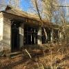 Dintorni di Černobyl', villaggio abbandonato