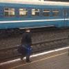 Pendolari scendono a Ivano-Frankivsk