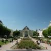 Černivci, Piazza del teatro
