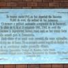 Suceava, Romania, stazione ferroviaria, lapide a ricordo delle deportazioni degli ebrei del 1941