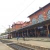 Suceava, Romania, stazione ferroviaria
